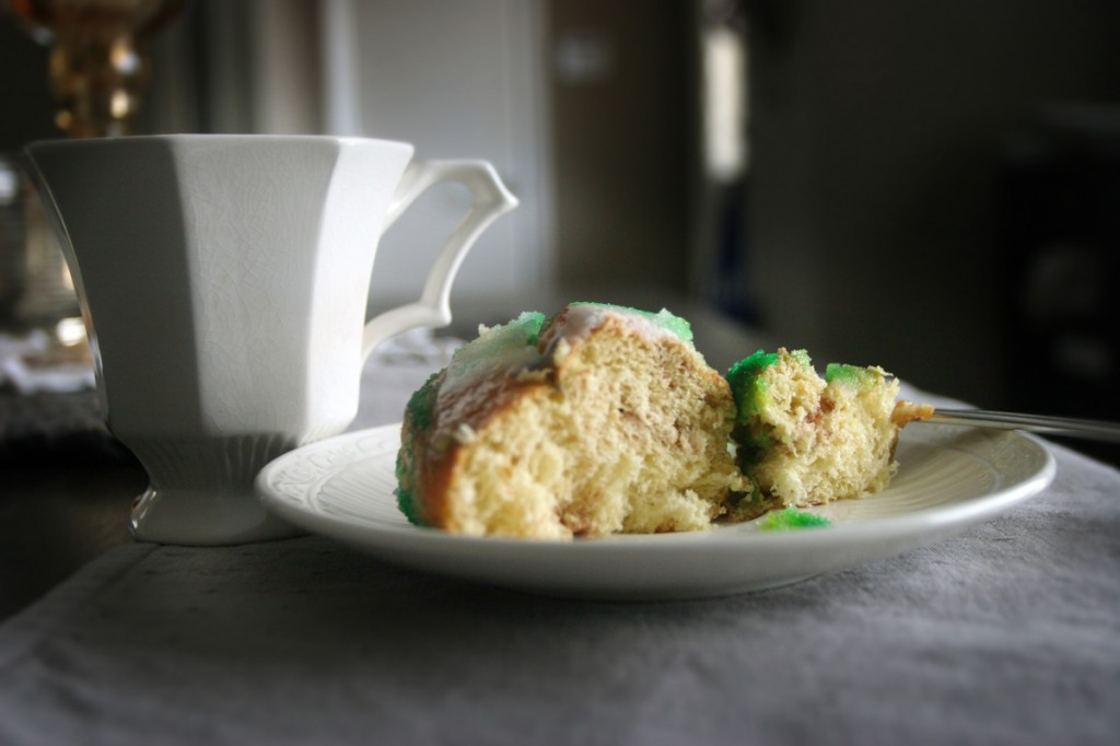 King Cake and Coffee